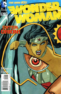 Cover Thumbnail for Wonder Woman (DC, 2011 series) #15