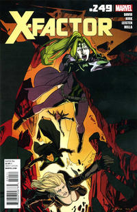 Cover for X-Factor (Marvel, 2006 series) #249