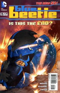 Cover for Blue Beetle (DC, 2011 series) #15
