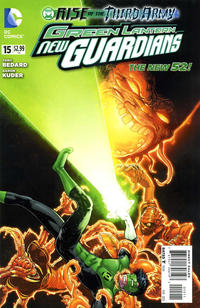 Cover Thumbnail for Green Lantern: New Guardians (DC, 2011 series) #15