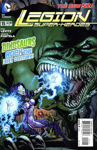 Cover Thumbnail for Legion of Super-Heroes (DC, 2011 series) #15