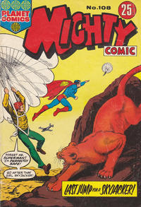Cover Thumbnail for Mighty Comic (K. G. Murray, 1960 series) #108