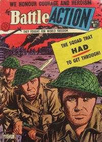 Cover Thumbnail for Battle Action (Horwitz, 1954 ? series) #74
