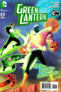 Cover Thumbnail for Green Lantern: The Animated Series (DC, 2012 series) #2