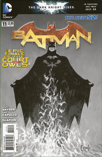 Cover Thumbnail for Batman (DC, 2011 series) #11 [Greg Capullo Sketch Cover]