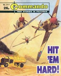 Cover Thumbnail for Commando (D.C. Thomson, 1961 series) #2111