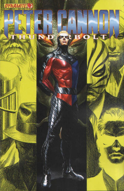 Cover for Peter Cannon: Thunderbolt (Dynamite Entertainment, 2012 series) #4 [Cover A - Alex Ross]