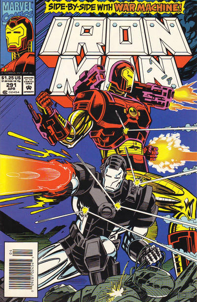 Cover for Iron Man (Marvel, 1968 series) #291 [Newsstand]
