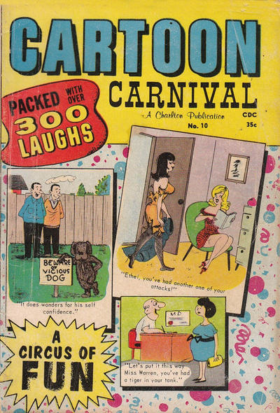 Cover for Cartoon Carnival (Charlton, 1962 series) #10