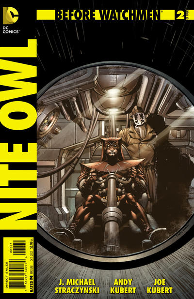 Cover for Before Watchmen: Nite Owl (DC, 2012 series) #2