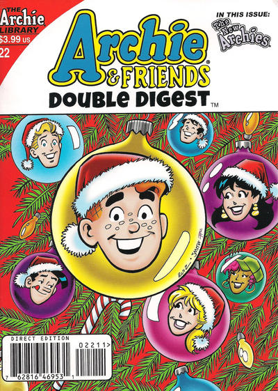Cover for Archie & Friends Double Digest Magazine (Archie, 2011 series) #22 [Newsstand]