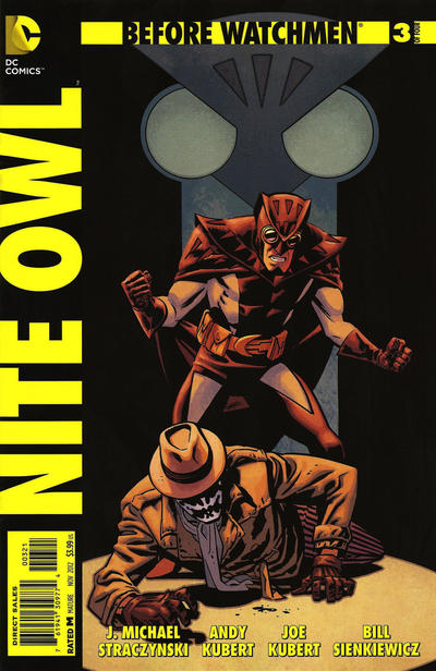 Cover for Before Watchmen: Nite Owl (DC, 2012 series) #3