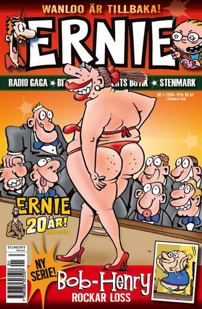 Cover for Ernie (Egmont, 2000 series) #1/2008