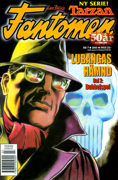 Cover for Fantomen (Egmont, 1997 series) #7/2000