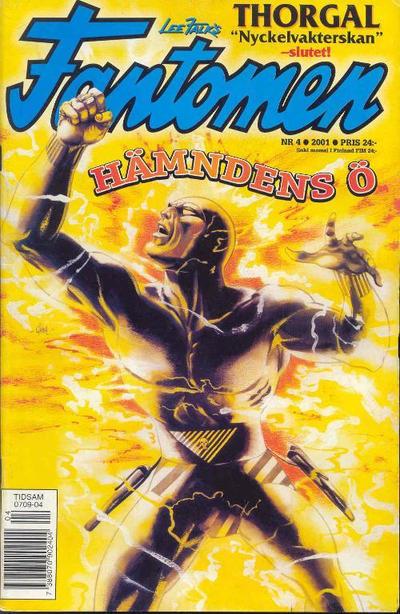 Cover for Fantomen (Egmont, 1997 series) #4/2001