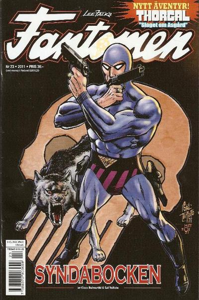 Cover for Fantomen (Egmont, 1997 series) #23/2011