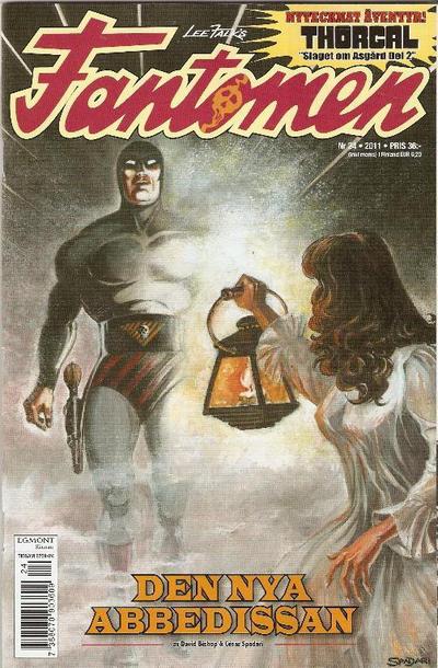 Cover for Fantomen (Egmont, 1997 series) #24/2011