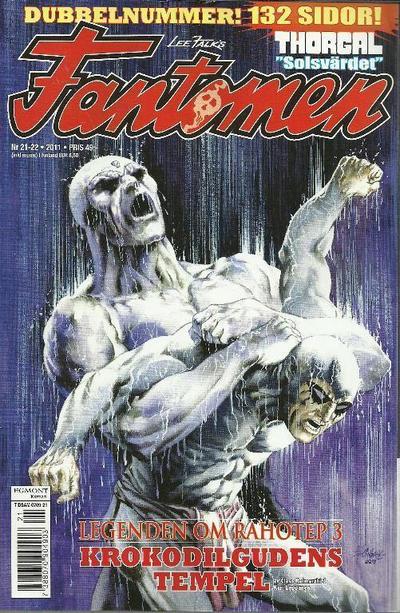 Cover for Fantomen (Egmont, 1997 series) #21-22/2011