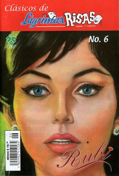 Cover for Clásicos de Lágrimas Risas y Amor.  Rubí (Grupo Editorial Vid, 2012 series) #6