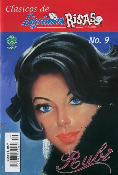 Cover for Clásicos de Lágrimas Risas y Amor.  Rubí (Grupo Editorial Vid, 2012 series) #9
