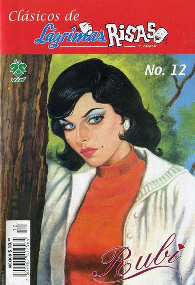 Cover for Clásicos de Lágrimas Risas y Amor.  Rubí (Grupo Editorial Vid, 2012 series) #12