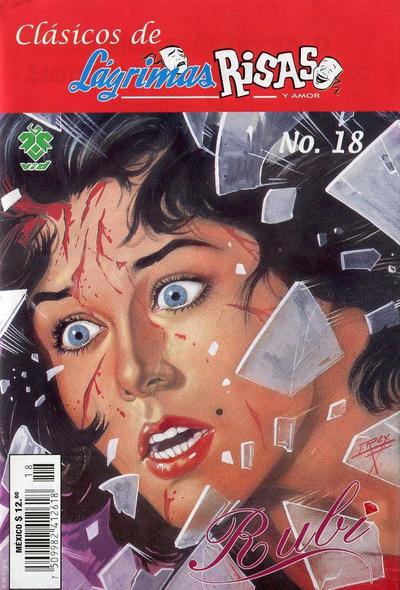 Cover for Clásicos de Lágrimas Risas y Amor.  Rubí (Grupo Editorial Vid, 2012 series) #18