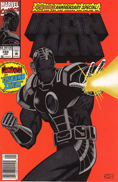 Cover for Iron Man (Marvel, 1968 series) #288 [Direct Edition]