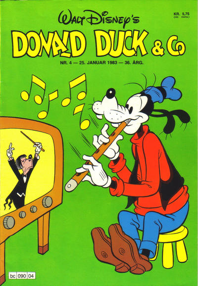 Cover for Donald Duck & Co (Hjemmet / Egmont, 1948 series) #4/1983