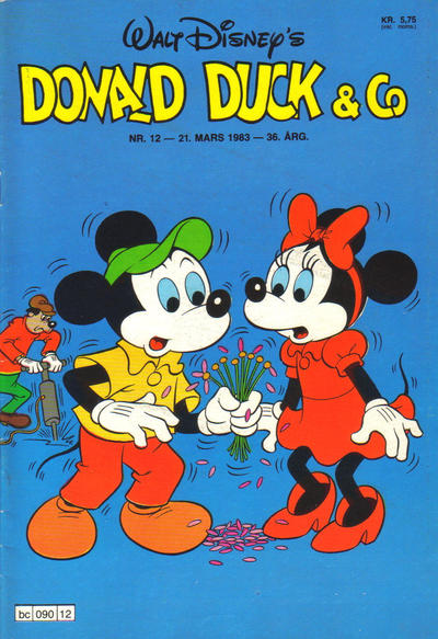 Cover for Donald Duck & Co (Hjemmet / Egmont, 1948 series) #12/1983
