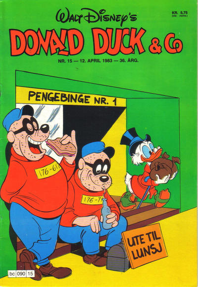 Cover for Donald Duck & Co (Hjemmet / Egmont, 1948 series) #15/1983