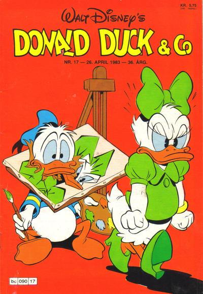 Cover for Donald Duck & Co (Hjemmet / Egmont, 1948 series) #17/1983