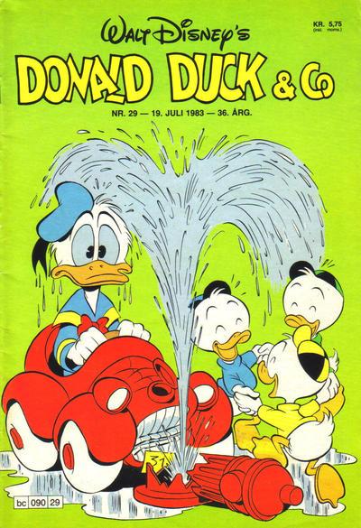 Cover for Donald Duck & Co (Hjemmet / Egmont, 1948 series) #29/1983