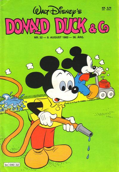 Cover for Donald Duck & Co (Hjemmet / Egmont, 1948 series) #32/1983