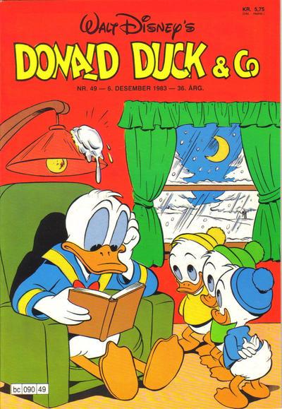 Cover for Donald Duck & Co (Hjemmet / Egmont, 1948 series) #49/1983