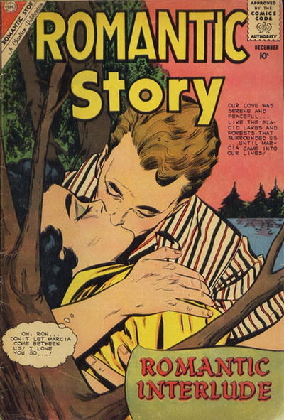 Cover for Romantic Story (Charlton, 1954 series) #52