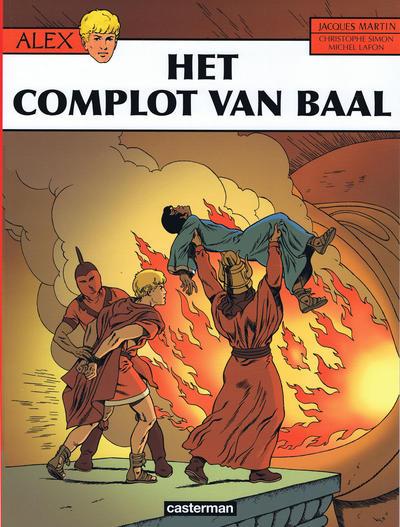 Cover for Alex (Casterman, 1968 series) #30 - Het complot van Baal