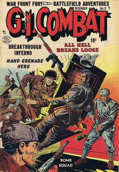Cover for G.I. Combat (Quality Comics, 1952 series) #12