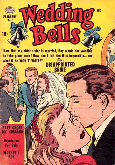 Cover for Wedding Bells (Quality Comics, 1954 series) #7