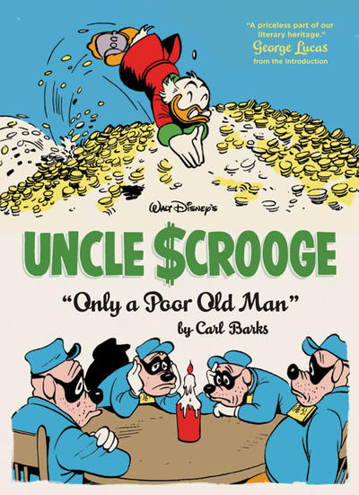 Cover for The Complete Carl Barks Disney Library (Fantagraphics, 2011 series) #[12] - Walt Disney's Uncle Scrooge- Only a Poor Old Man