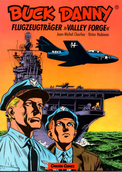 "Cover for Buck Danny (Carlsen Comics [DE], 1989 series) #7 - Flugzeugträger ""Valley Forge"""
