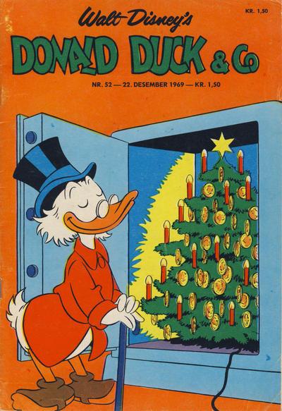 Cover for Donald Duck & Co (Hjemmet / Egmont, 1948 series) #52/1969