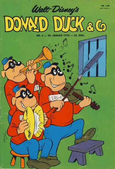 Cover for Donald Duck & Co (Hjemmet / Egmont, 1948 series) #4/1970