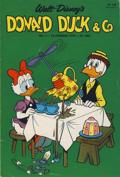 Cover for Donald Duck & Co (Hjemmet / Egmont, 1948 series) #7/1970