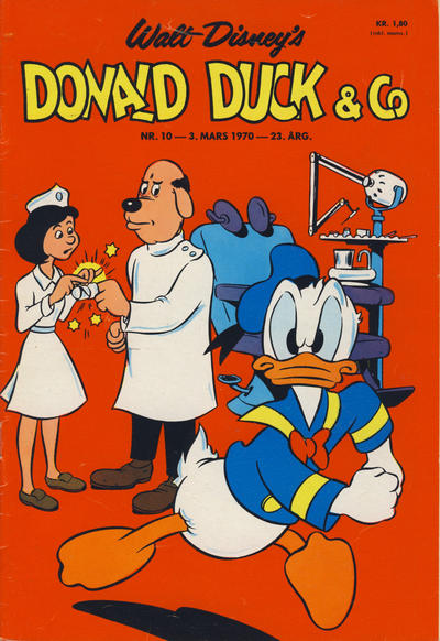 Cover for Donald Duck & Co (Hjemmet / Egmont, 1948 series) #10/1970