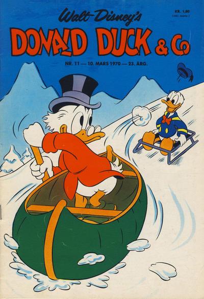 Cover for Donald Duck & Co (Hjemmet / Egmont, 1948 series) #11/1970