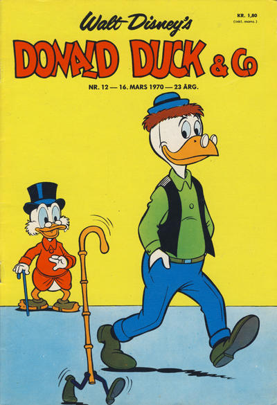 Cover for Donald Duck & Co (Hjemmet / Egmont, 1948 series) #12/1970