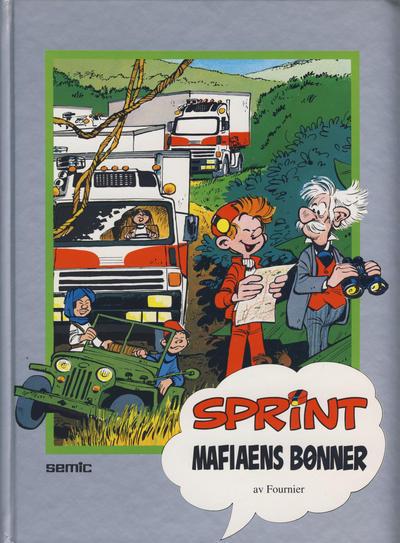 Cover for Sprint [Seriesamlerklubben] (Semic, 1986 series) #[24] - Mafiaens bønner