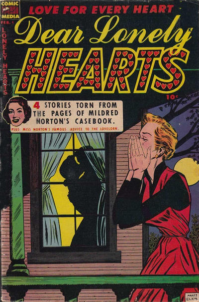 Cover for Dear Lonely Hearts (Comic Media, 1953 series) #4