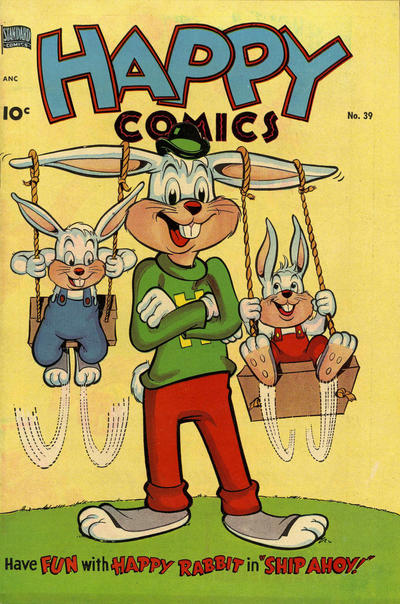 Cover for Happy Comics (Pines, 1943 series) #39