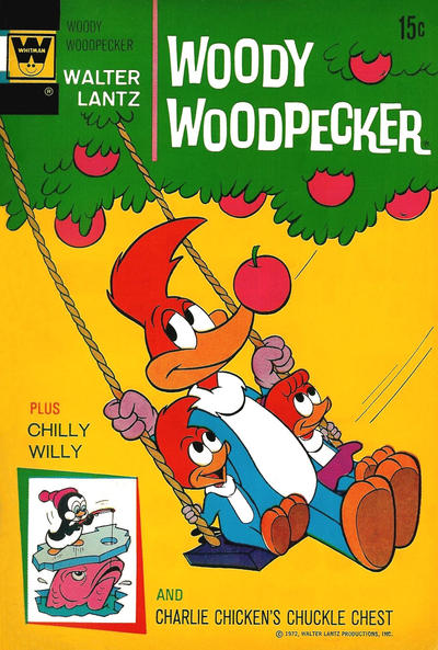 Cover for Walter Lantz Woody Woodpecker (Western, 1962 series) #123